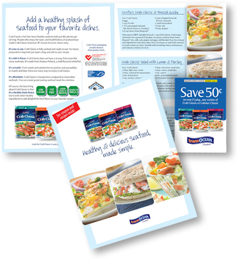 Magazine Insert Delivers Recipes and Coupons